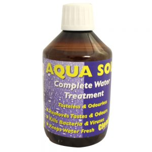Aquasol, water purification solution